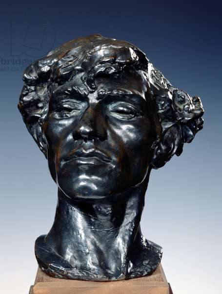 Giganti or, Head of a Bandit, 1885 (bronze)