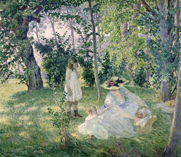 The Picnic, 1903 (oil on canvas)
