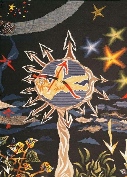La Conquete de l'Espace, from 'Le Chant du Monde', 1960 (tapestry) (detail of 196262)