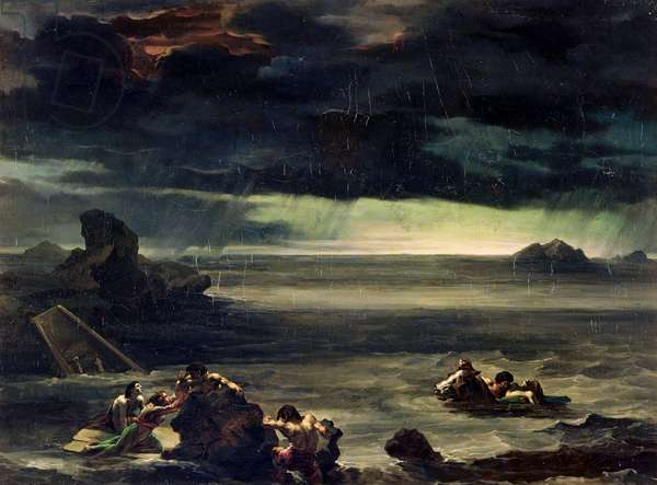 Scene of the Deluge, 1818-20 (oil on canvas)
