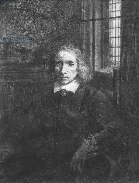 Thomas Jacobsz Haaring the Younger, 1656 (etching) (b/w photo)