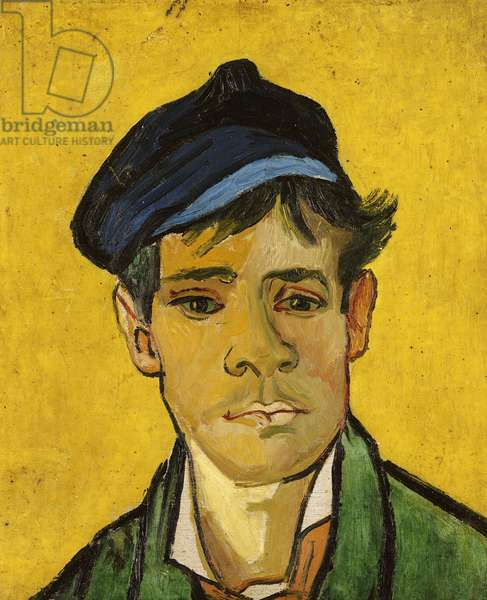 Young Man with a Hat, 1888 (oil on canvas)