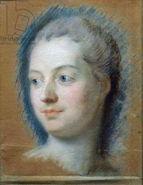 Portrait of Madame de Pompadour (1721-64) 1752 (pastel on paper)