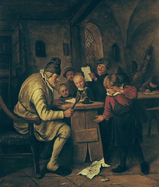 The School Master, 1626-79 (oil on canvas)