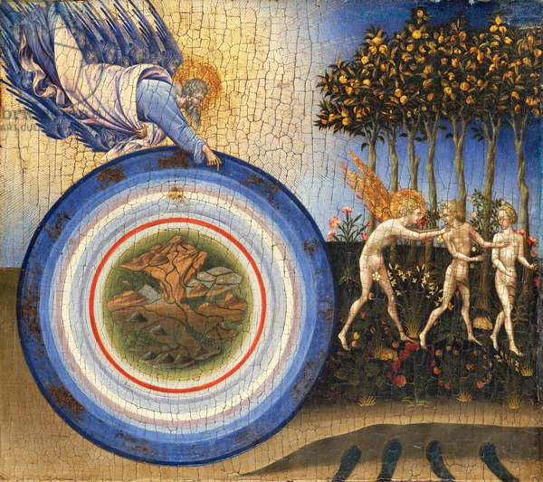The Creation of the World and the Expulsion from Paradise, 1445 (tempera and gold on wood)