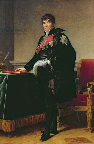 Count Michel Regnaud de Saint-Jean-d'Angely (1761-1819) (oil on canvas)