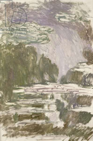 Study for the Waterlilies, 1907 (oil on canvas)