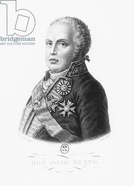 John VI of Portugal (engraving)