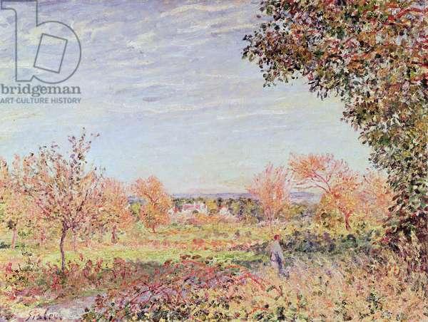 September Morning, c.1887 (oil on canvas)