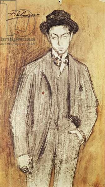 Juan Vidal y Ventosa, c.1899-1900 (w/c & charcoal on paper)