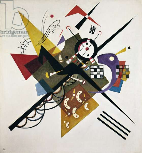 On White II, 1923 (oil on canvas)