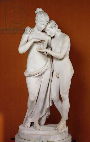 Cupid and Psyche (marble)