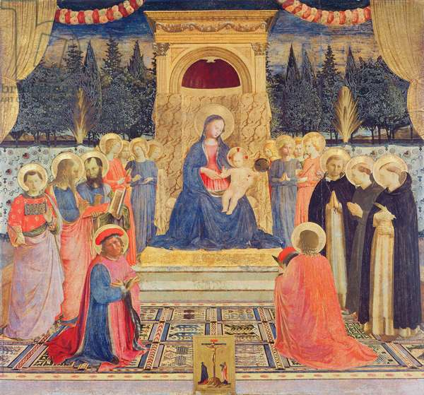 The San Marco Altarpiece, c.1438-40 (tempera on panel)