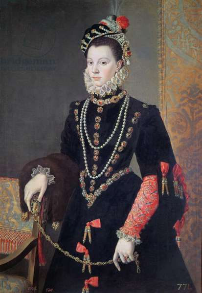 Elizabeth de Valois, c.1605 (oil on canvas)