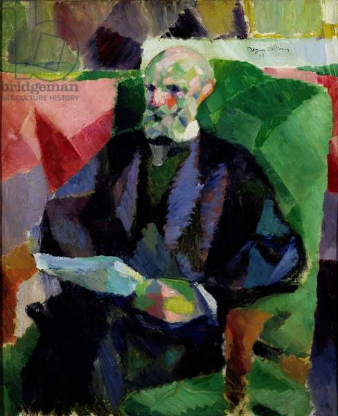 Portrait of the Artist's Father, 1913 (oil on canvas)