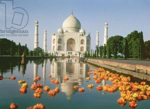 View of the Taj Mahal (photo)