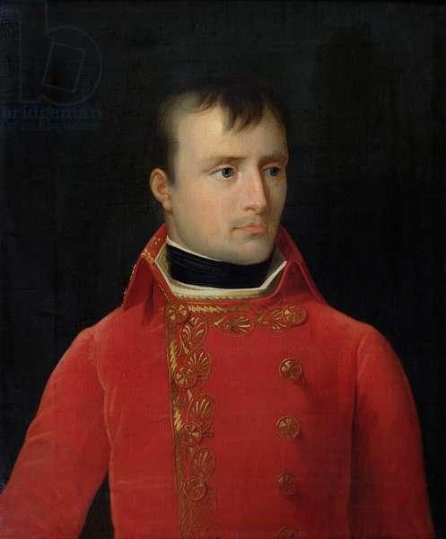 Portrait of Napoleon Bonaparte (1769-1821) (oil on canvas)