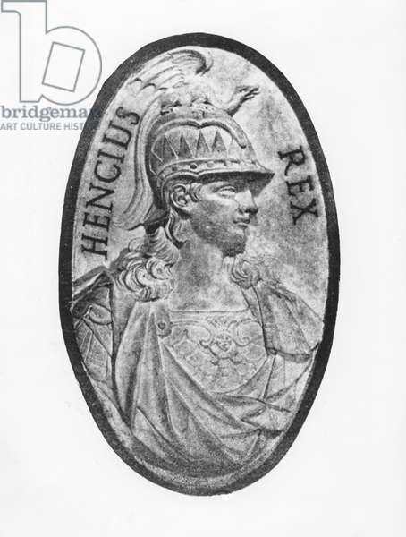 Enzo, King of Sardinia (litho)