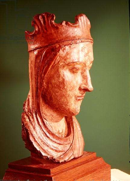 Head of the Virgin (wood)