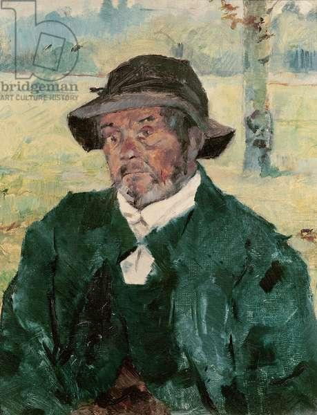 An Old Man, Celeyran, 1882 (oil on canvas)