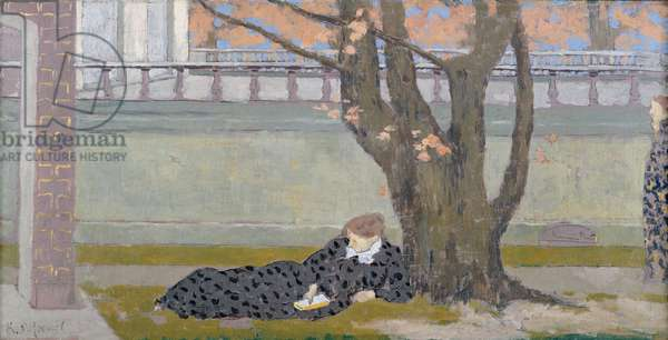 The Terrace at the Tuileries, c.1892-3 (oil on canvas)