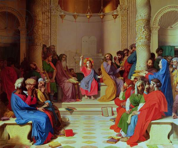 Jesus Among the Doctors, 1862 (oil on canvas)