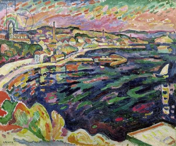 The Port of Estaque, 1906 (oil on canvas)