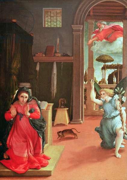 The Annunciation, c.1534-35 (oil on canvas)