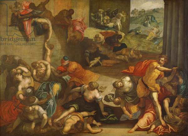 Massacre of the Innocents (oil on canvas)