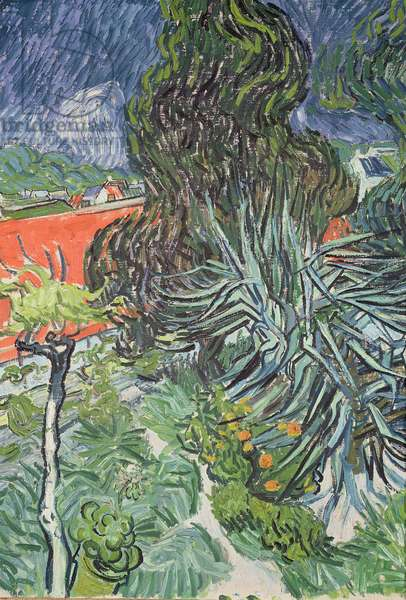 The Garden of Doctor Gachet at Auvers-sur-Oise, 1890 (oil on canvas)
