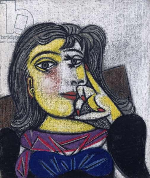 Portrait of Dora Maar (1907-97) 1st October 1937 (oil on canvas)
