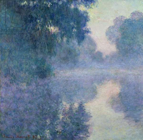 Branch of the Seine near Giverny, 1897 (oil on canvas)