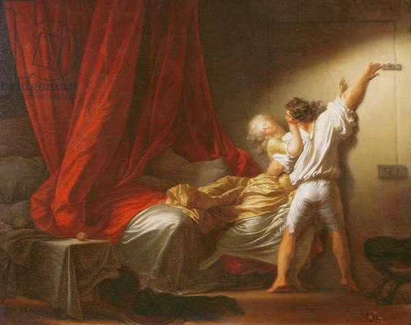 The Bolt, c.1778 (oil on canvas)