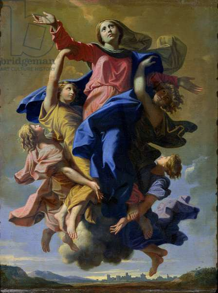 The Assumption of the Virgin, 1649-50 (oil on canvas)