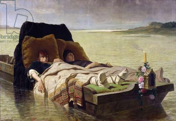 The Enerves de Jumieges, 1880 (oil on canvas)