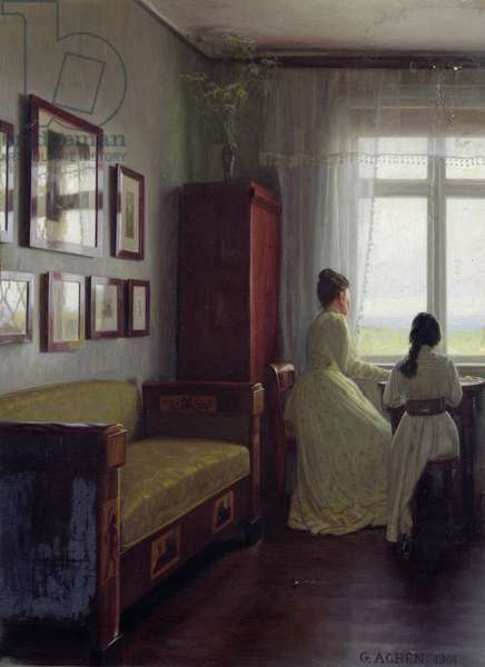 Interior, 1901 (oil on canvas)