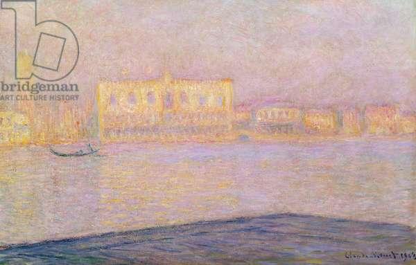The Ducal Palace from San Giorgio, 1908 (oil on canvas)