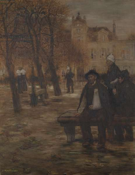 The Old Convalescents, c.1892 (oil on canvas)