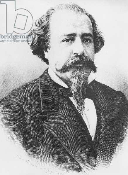 Adelardo Lopez de Ayala (engraving)