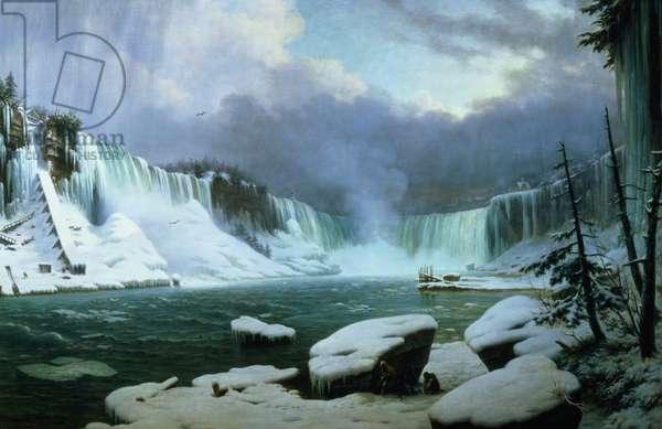 Niagara Falls (oil on canvas)