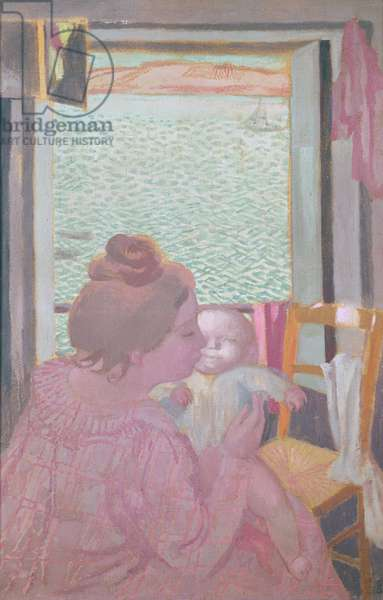 Maternity at the Window, 1901 (oil on canvas)