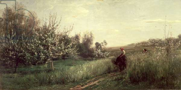 Spring, 1857 (oil on canvas)