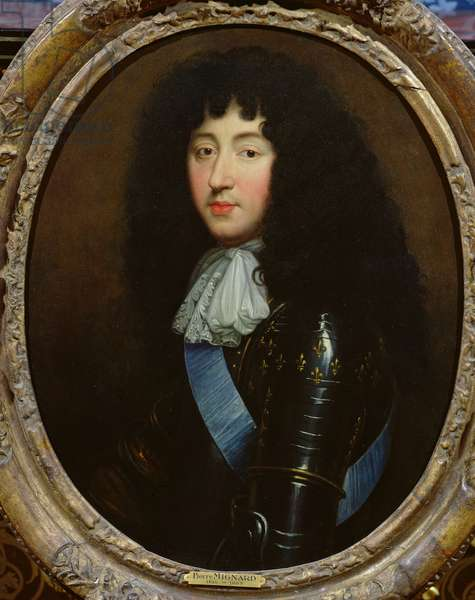 Philippe of France (1640-1701) Duke of Orleans (oil on canvas)