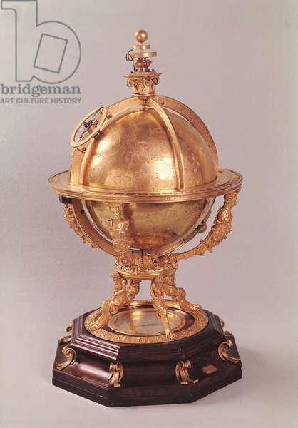 Celestial sphere, c.1580 (gilded bronze)