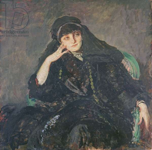Anna, Countess of Noailles, 1912 (oil on canvas)