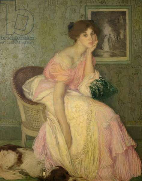 Portrait of a Young Girl, 1906 (oil on canvas)