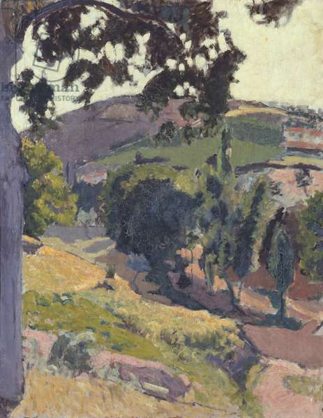 Noble Landscape (oil on canvas)