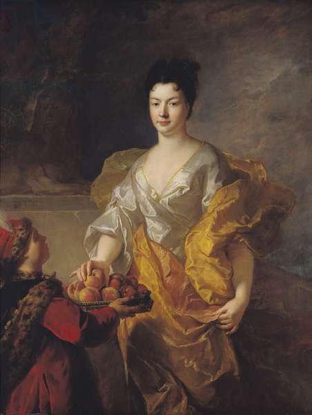 Anne-Marie de Bosmelet, Duchess of La Force, 1714 (oil on canvas)