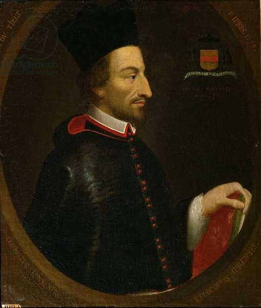 Cornelius Jansen (1585-1638) Bishop of Ypres (oil on canvas)