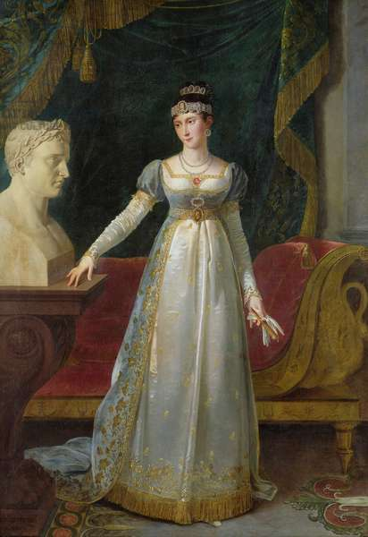 Marie Pauline Bonaparte (1780-1825) Princess Borghese, 1808 (oil on canvas)